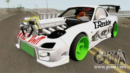 Nissan Green Wheels (MTA Tokyo Drift) para GTA San Andreas