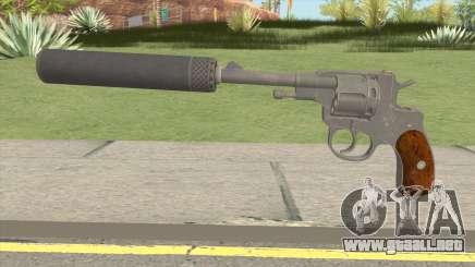 PUBG Revolver M1895 Silenced para GTA San Andreas