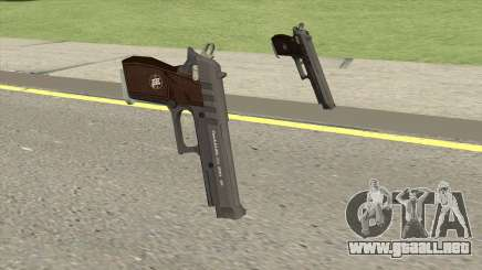 Hawk And Little Pistol (Black Tint) V1 GTA V para GTA San Andreas