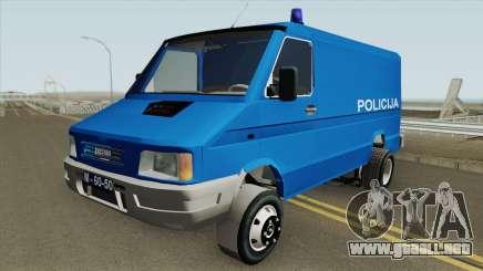 Zastava Daily 35B Yugoslavia Police para GTA San Andreas
