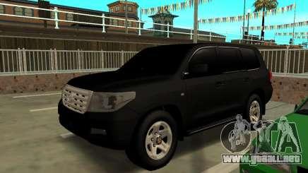 Toyota Land Cruiser 200 2009 Arab para GTA San Andreas