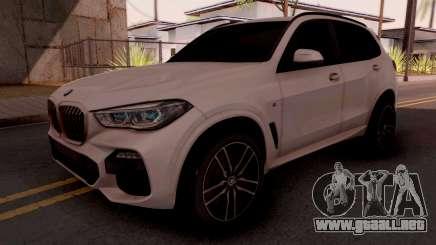 BMW X5M 30d Design para GTA San Andreas