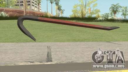 Crowbar GTA V para GTA San Andreas