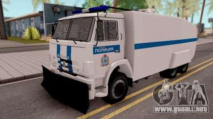 KamAZ 65116 De La Policía para GTA San Andreas