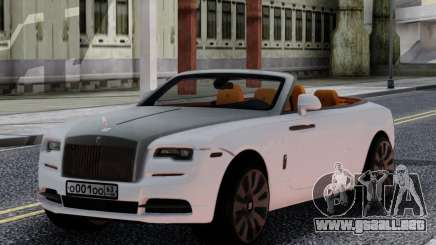 Rolls-Royce Dawn 2017 White para GTA San Andreas