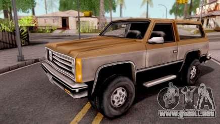 Rancher GTA VC para GTA San Andreas