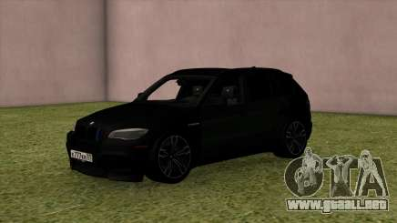 BMW X5M Black para GTA San Andreas