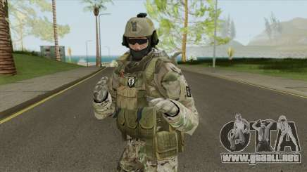 Skin Comando 601 Multicam Ejercito Argentino para GTA San Andreas