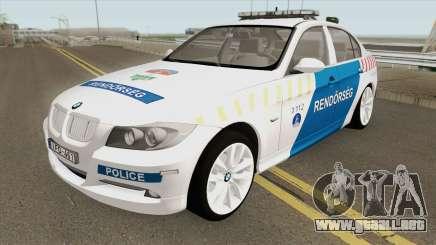 BMW 330i Magyar Rendorseg para GTA San Andreas