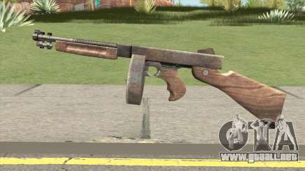 Chicago Typewriter Drum (Resident Evil 4) para GTA San Andreas