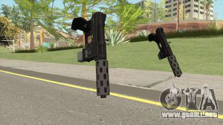 Vom Feuer Machine Pistol GTA V (Short Mag) para GTA San Andreas