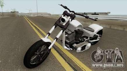 Liberty City Customs Avarus GTA V para GTA San Andreas
