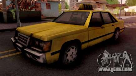 Taxi GTA VC para GTA San Andreas
