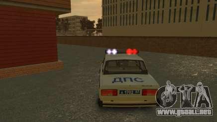 Nueva sirena de DPS para GTA 4