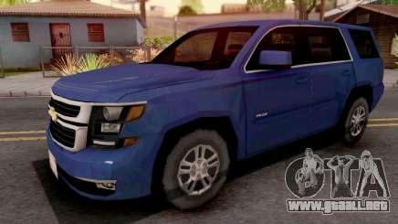 Chevrolet Tahoe 2015 SA Style para GTA San Andreas