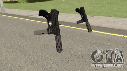 Vom Feuer Machine Pistol GTA V (Long Mag) para GTA San Andreas