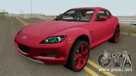 Mazda RX8 HQ para GTA San Andreas