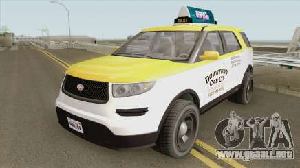 Vapid Scout Taxi V3 GTA V para GTA San Andreas