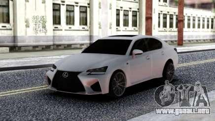 Lexus GS-F para GTA San Andreas