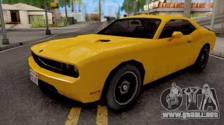 Dodge Challenger SRT8 Yellow para GTA San Andreas