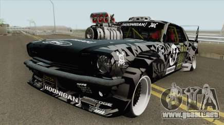 Ford Mustang 1965 Ken Block HQ para GTA San Andreas