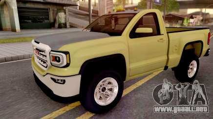 GMC Sierra 2018 para GTA San Andreas