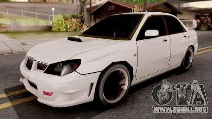 Subaru Impreza WRX STI 2007 SA Style para GTA San Andreas