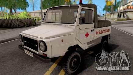 LuAZ-2403 Servicio De Ambulancia para GTA San Andreas
