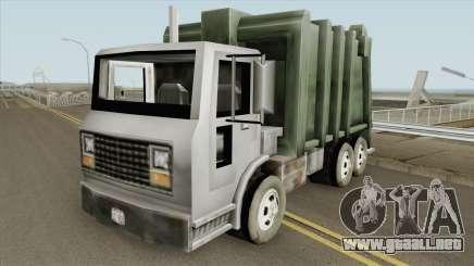 Trashmaster GTA III para GTA San Andreas