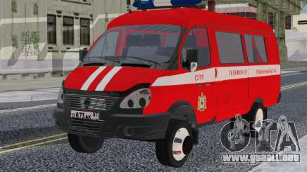 GAZelle 33023 SPT para GTA San Andreas