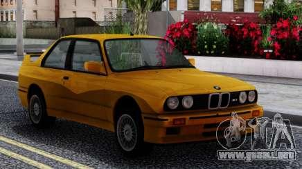 BMW M3 E30 Sport Evolution 1986 para GTA San Andreas