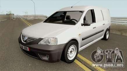 Dacia Logan Mcv Van 2007 para GTA San Andreas