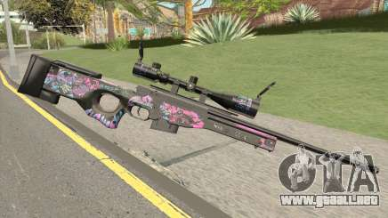 Sniper Rifle (High Quality) para GTA San Andreas