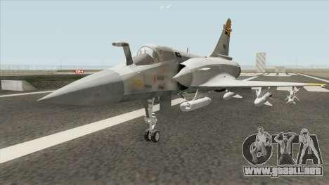 Mirage 2000 Egypt para GTA San Andreas