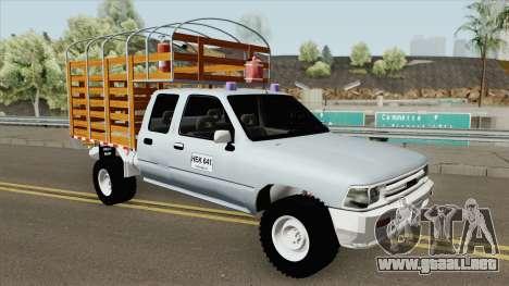 Toyota Hilux Con Estacas para GTA San Andreas