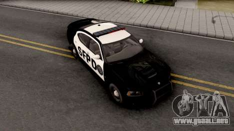 Dodge Charger SRT 8 Police para GTA San Andreas