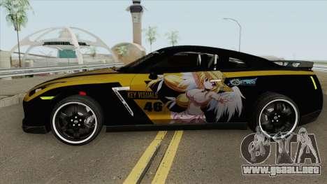 Nissan GT R-35 Astrea Sora No Otoshimono para GTA San Andreas