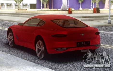 Bentley Exp 10 Speed para GTA San Andreas