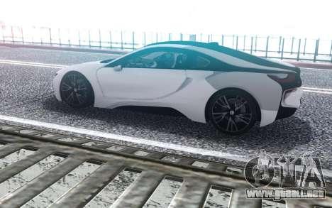 BMW i8 2019 para GTA San Andreas