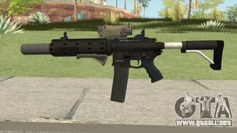 Carbine Rifle GTA V Complete Upgrades (Ext Clip) para GTA San Andreas