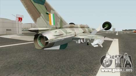 New MiG-21 para GTA San Andreas