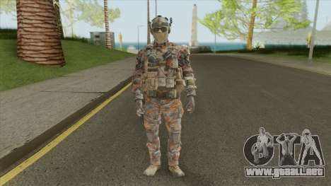 Merc V1 (Call of Duty: Black Ops II) para GTA San Andreas