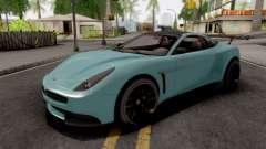 Dewbauchee Massacro Racecar GTA 5 para GTA San Andreas
