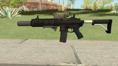 Carbine Rifle V2 (Grip, Silenced, Tactical) para GTA San Andreas