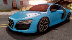 Audi R8 V10 Plus Blue para GTA San Andreas