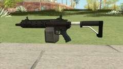 Carbine Rifle GTA V Flashlight (Box Clip) para GTA San Andreas