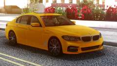 BMW 540i G30 Orange para GTA San Andreas