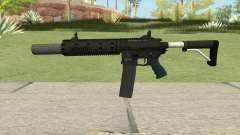 Carbine Rifle GTA V V3 (Silenced, Flashlight) para GTA San Andreas