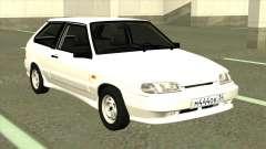 VAZ 2113 Drenaje Blanco para GTA San Andreas