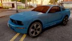Ford Mustang GT 2008 para GTA San Andreas